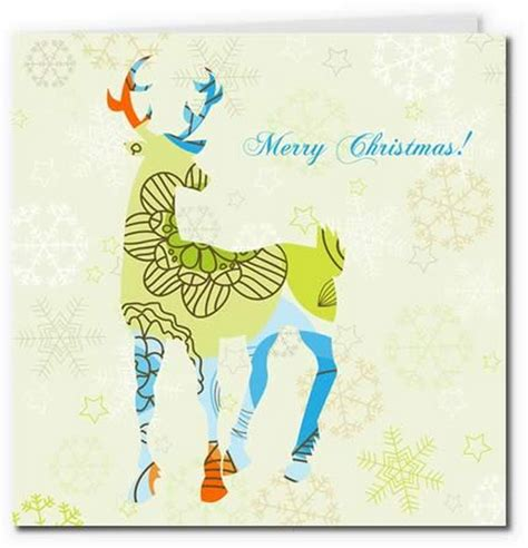 printable reindeer card 40 free printable christmas cards 2017