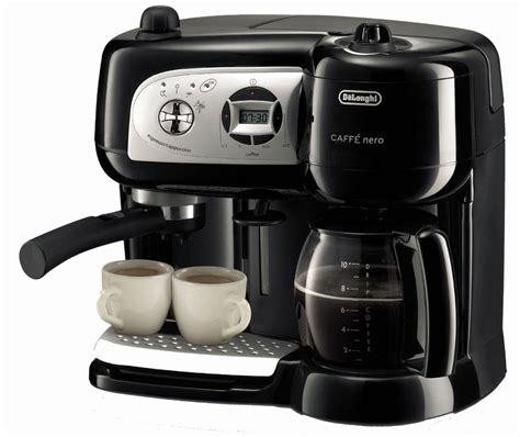 Coffee Maker Machine delonghi bco264b cafe nero combo coffee and