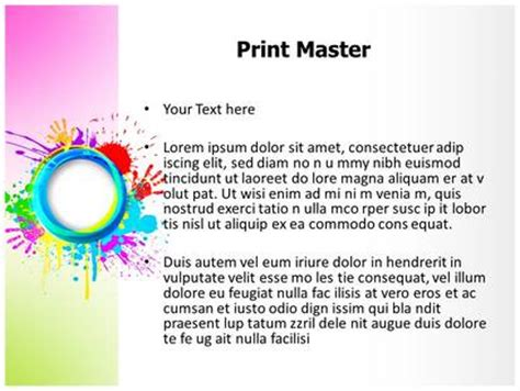 ppt templates for holi india holi festival powerpoint template background