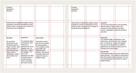 Graphic Design Grid Layout Pdf | typography and grids by thinkingwithtype the grid system