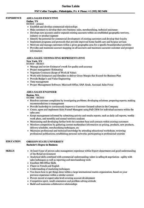 Resume Sles For Germany area sales resume sles velvet