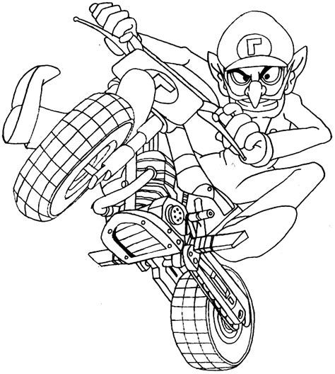 drawing coloring pages games mario kart 14 video games printable coloring pages