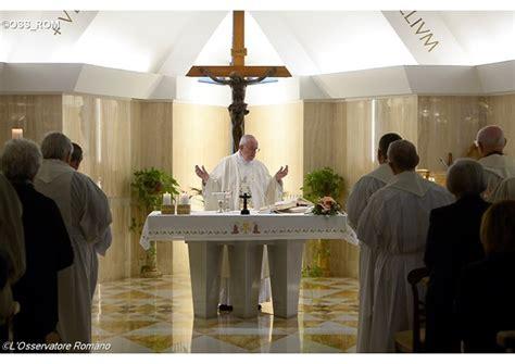casa santa marta vaticano be docile to the holy spirit pope francis at casa santa