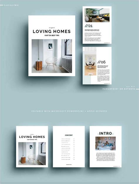 Best 50 Premium Magazine Templates For 2019 50 Graphics Keynote Ebook Template
