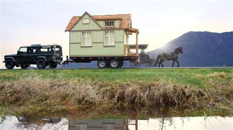 tiny green house featured in behr paint commercial