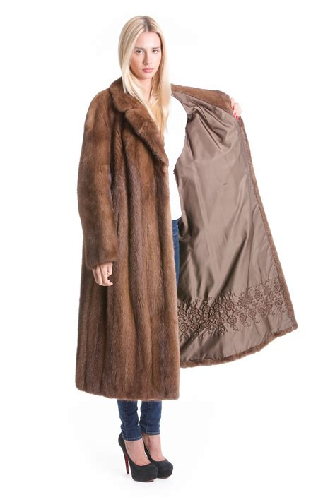 luxury ladies fur coats buy mink coat noble luxury fur coat pastel online at your