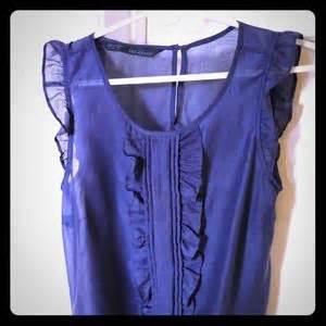 Gloria Jumbo Blouse Light Blue 91 zara tops zara khaki sweater w pleated chiffon