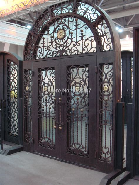 Handmade Iron - aliexpress buy custom design wrought iron door iron