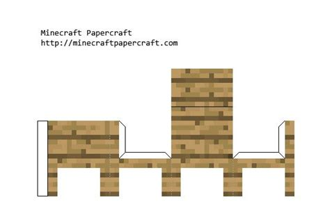 Minecraft Bed Papercraft - pin minecraft papercraft bed pictures on