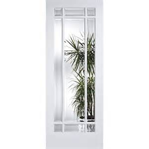 White Doors With Glass White Manhattan Clear Bevelled Glass Door At Leader Doors