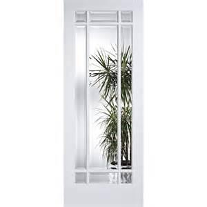 White Glass Door White Manhattan Clear Bevelled Glass Door At Leader Doors