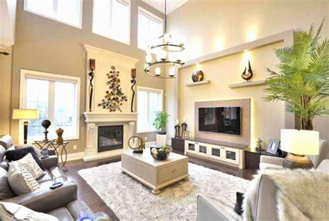beautiful living room designs  high ceilings