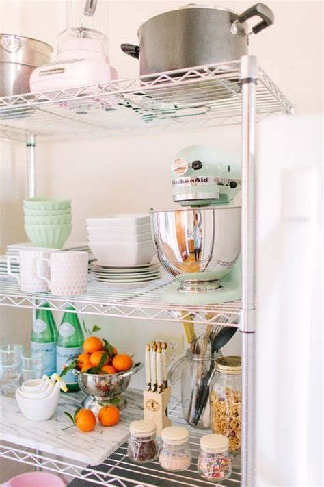wire kitchen shelves wire shelving units in the kitchen simple cheap and yes stylish