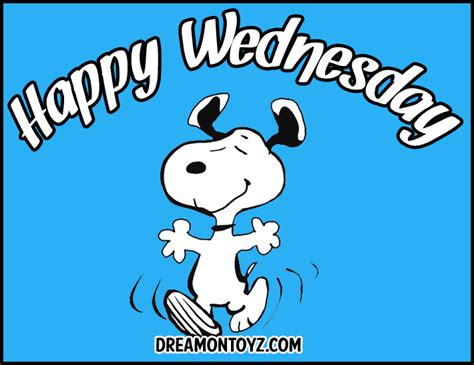 Snoopy Happy Days free graphics pics gifs photographs wednesday graphics and greetings