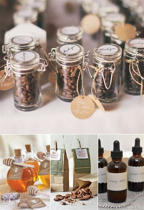 wedding favors 2015 with coffee beans and honey   Top 7