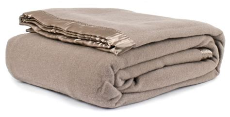 Down And Feather Duvets Australian Wool Blanket Taupe
