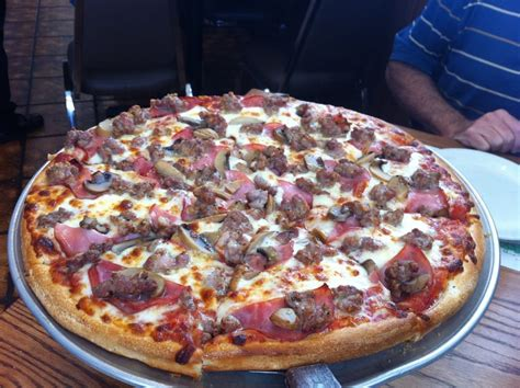 pina pizza house sausage mushrooms and canadian bacon yelp