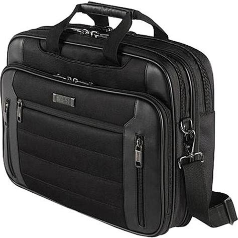 computer bag kenneth cole r tech gusset computer bag boscov s