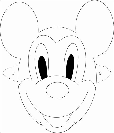 printable mouse mask template 6 mickey mouse mask template sletemplatess