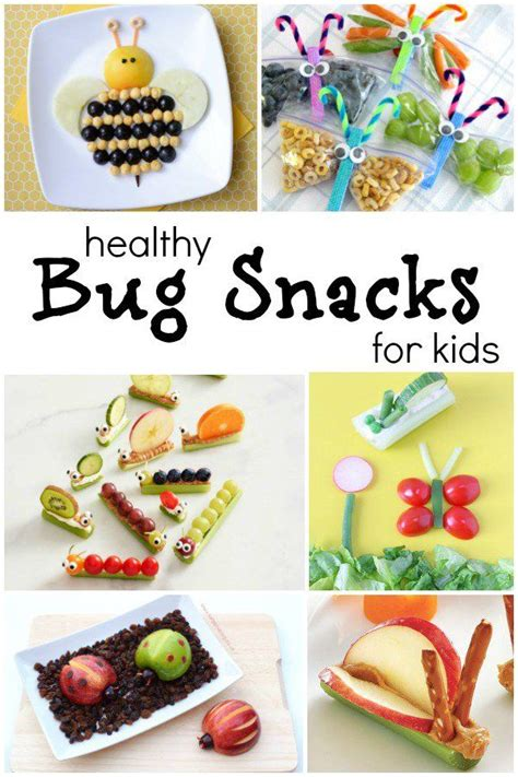 healthy snacks for preschoolers the cutest bug theme healthy snacks for insects