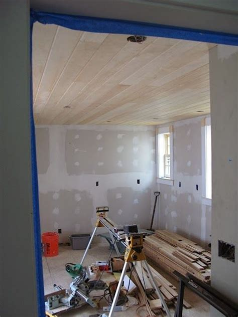 Pine Ceiling Planks by Pine Plank Ceiling Home Inspiration