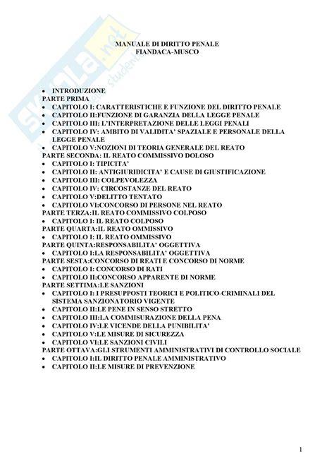 dispensa diritto penale diritto penale appunti