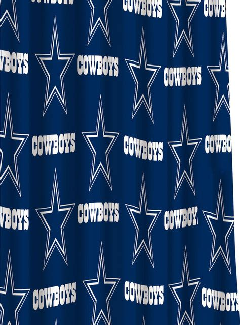 dallas cowboys shower curtains nfl dallas cowboys shower curtain football bath accessory