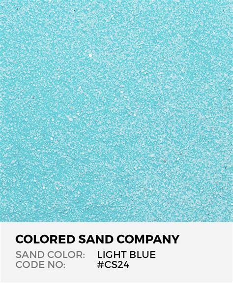 colored sand light blue cs24 classic colored sand art material