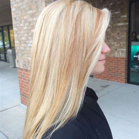 blonde hair with copper lowlights 17 best images about copper chaos on pinterest copper