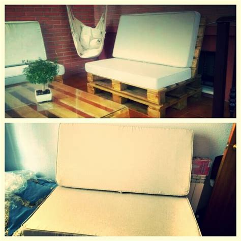 colchones para sofas fundas para cojines o colchones de sof 225 hecho con palets