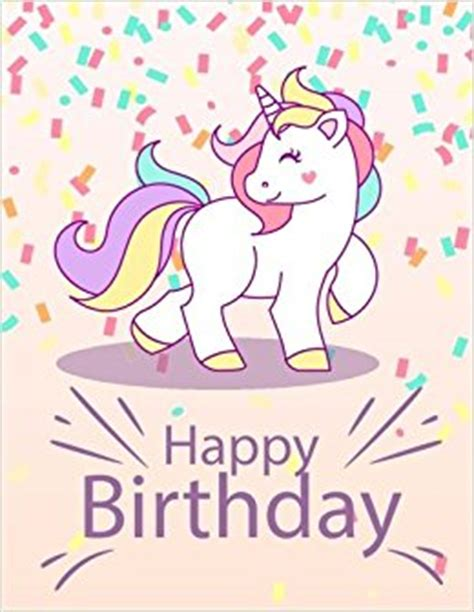 maggie the magic unicorn coloring book books happy birthday unicorn notebook inspirational journal