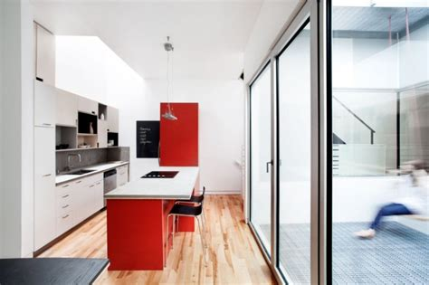 Modern Design Interior Design Ideas Pictures Inspiration And Decor Together With Interior Design | architecture powerful kitchen white and red design