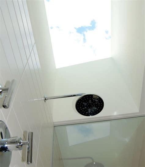 Skylight Shower by Master Bathroom Skylight Shower Midcentury