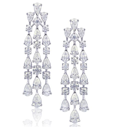 Earring Chandelier Friday 5 Chandelier Earrings The Jewelry Magazine