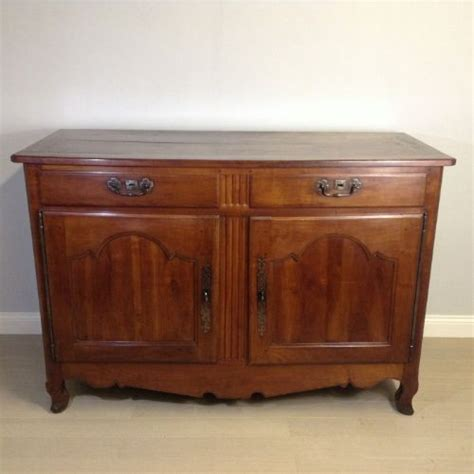 solid cherry wood buffet sideboard circa 1830 184877