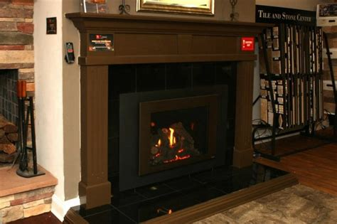 atlanta gas fireplace insert with blowers and thermostatic