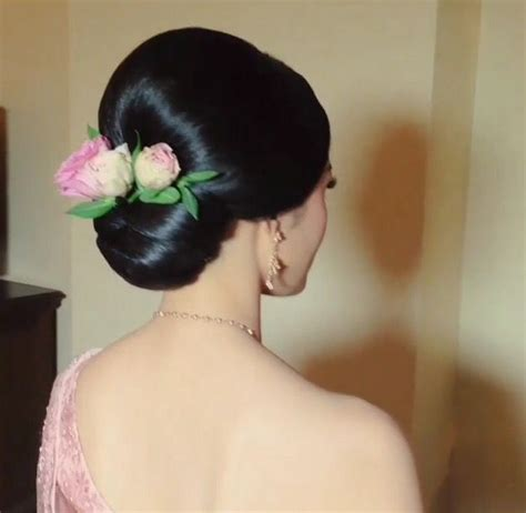 Thai Hairstyle by Thai Wedding Hairstyle Cr Nongchat Wedding