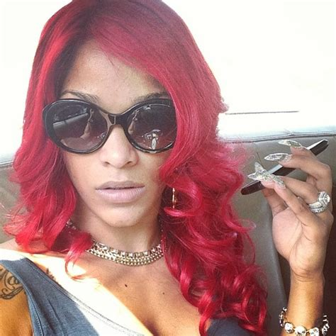 joseline hernandez hairstyles joseline hernandez goes k michelle red celebnmusic247
