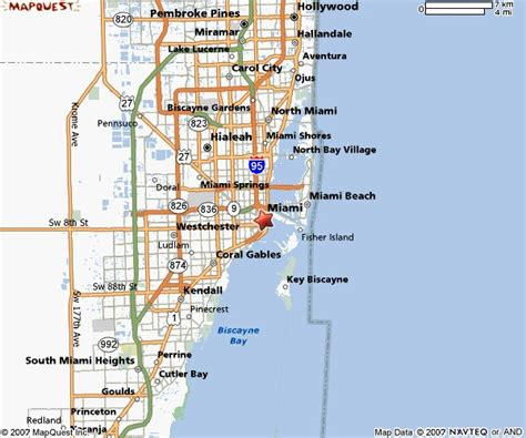 miami map miami florida fl profile population maps real estate html autos weblog