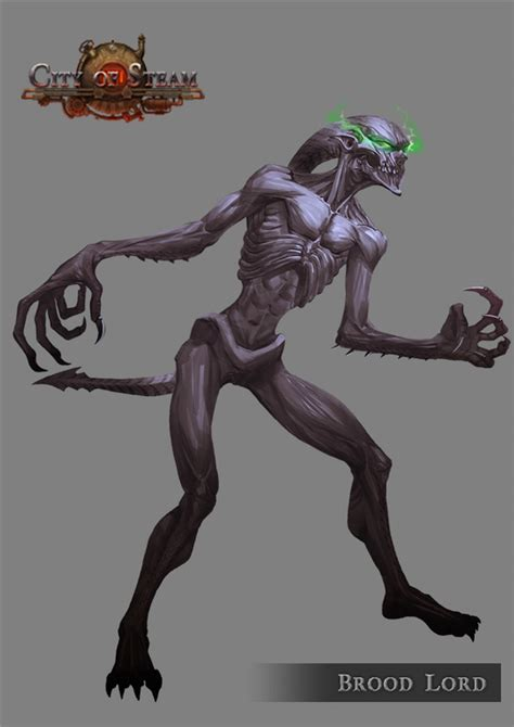 Home Design 3d Play Online Brood Lord Monster Concept Art From City Of Steam Mmorpg