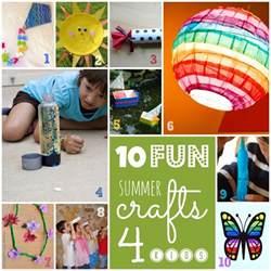 Kids Craft Summer - 10 fun summer crafts for kids fun for ep kids