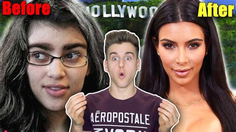 celeb before and after pics celebrities before and after fame youtube