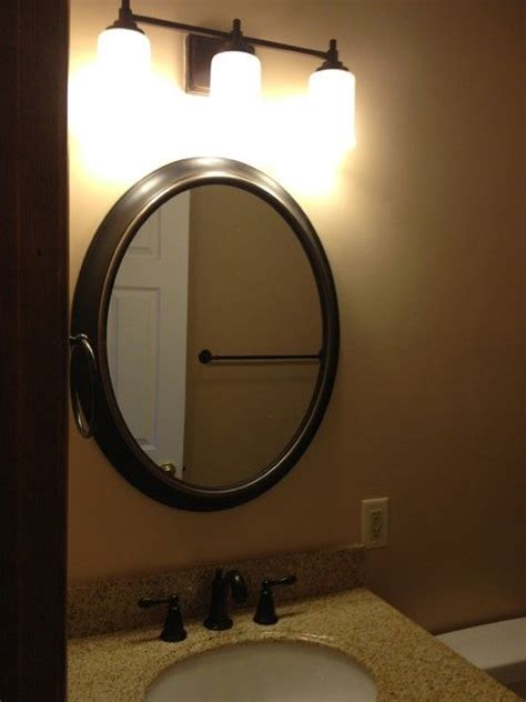 bronze mirrors for bathrooms 1000 ideas about oval bathroom mirror on pinterest