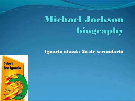michael jackson biography powerpoint michael jackson biography