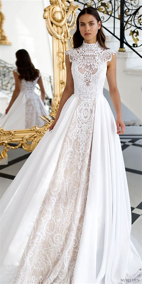 Couture Wedding Dresses by Nurit Hen Royal Couture Wedding Dresses Wedding Inspirasi