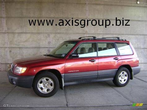 red subaru forester 2000 2001 subaru forester red pictures to pin on pinterest
