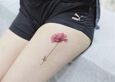 105 sensational watercolor flower tattoos tattoomagz