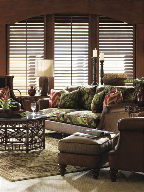Tommy Bahama Living Room | bronze lady home what s your style light or dark