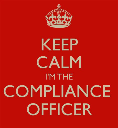 how to become a compliance officer at a bank keep calm i m the compliance officer poster esteban
