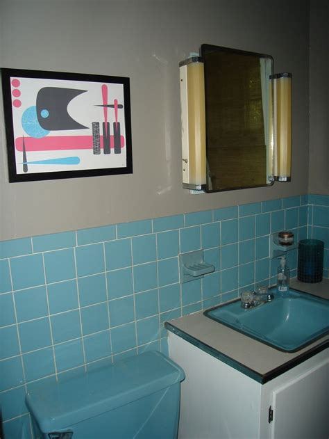 blue tiles bathroom ideas best 25 retro bathrooms ideas on pinterest retro